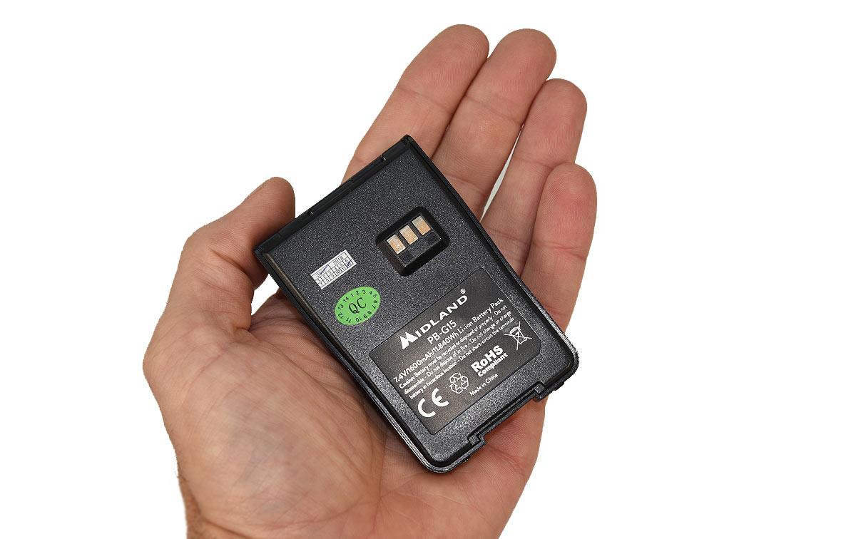 MIDLAND PB-G15 bateria original para G15/G18