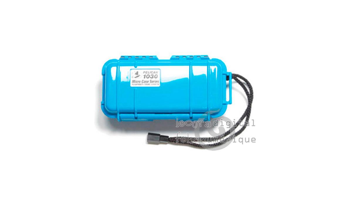 1030-025-120E Micro-Maleta de protección Azul