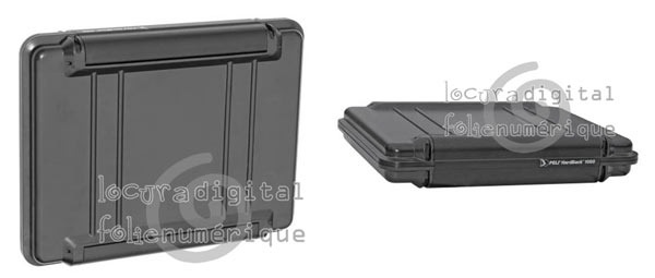Case 1080-003-110 indestructible, Black interior lining - Special laptops