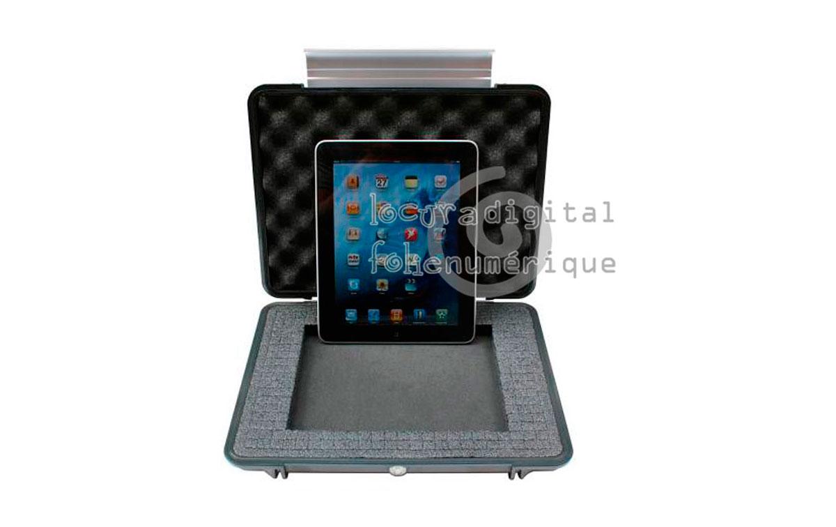 1080-000-186 Maleta indestructible, Plata, con espuma - Especial ordenadores portátiles