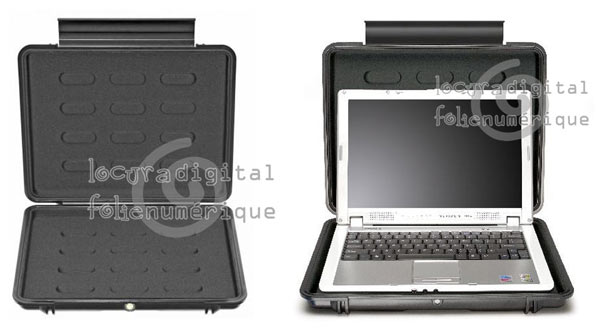 Case 1080-003-110 indestructible, Black interior lining