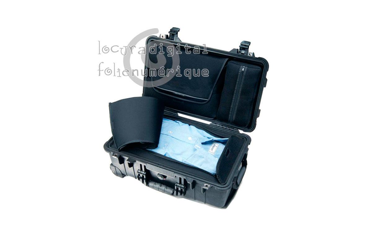 1510-006-110 Maleta Negra LOC, Laptop Overnigtht Case