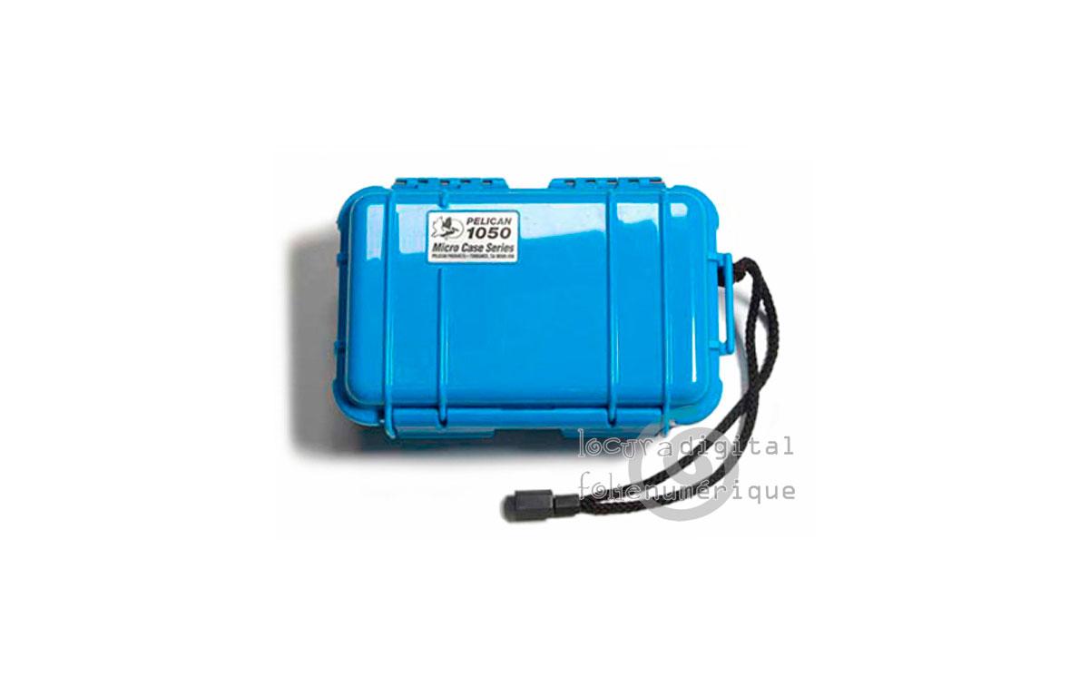 1040-025-120E Micro-Maleta de protección Azul