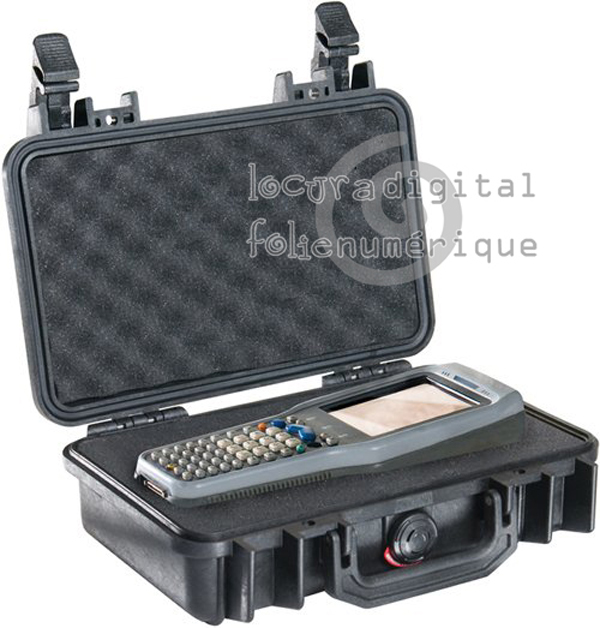1170-000-110-Black Protective Case with foam.