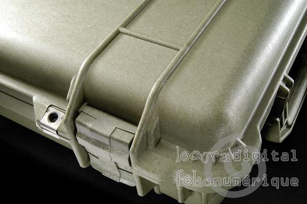 1170-000-130 Maleta de protección Verde caqui, con espuma