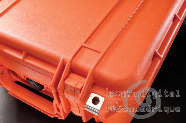 1170-000-150 Maleta de protección Naranja, con espuma