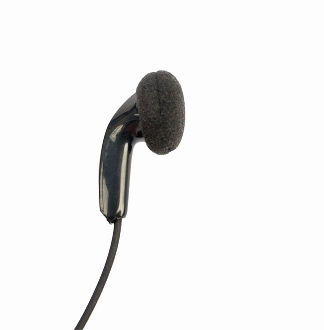 PIN18K NAUZER micro-auricular PTT tipo botón, conector KENWOOD