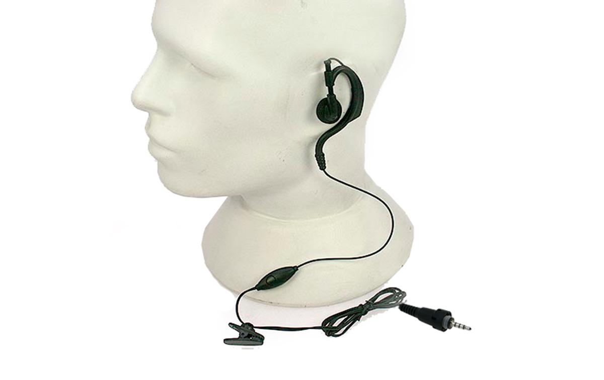 pin19k5 nauzer micro auricular de oreja para ptt tk-3601 kenwood