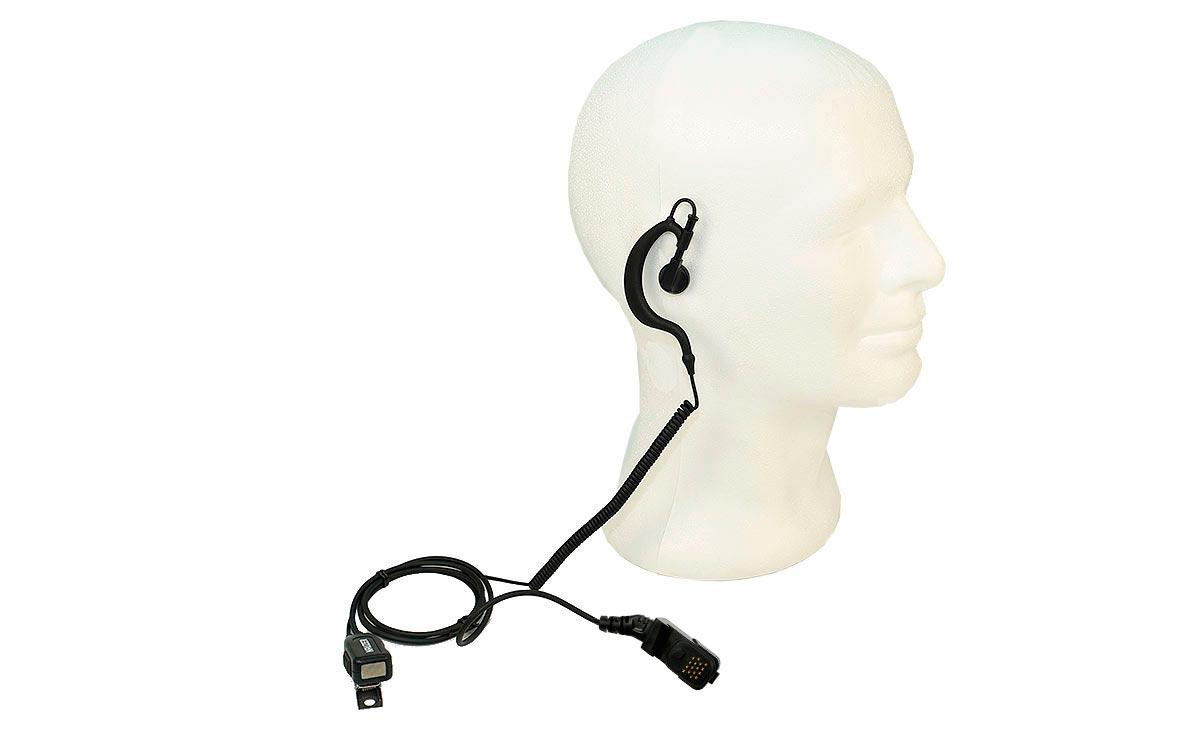 NAUZER PIN229TPH700 Micro-Auricular para MATRA EADS JUPITER TPH-700 TETRAPOL