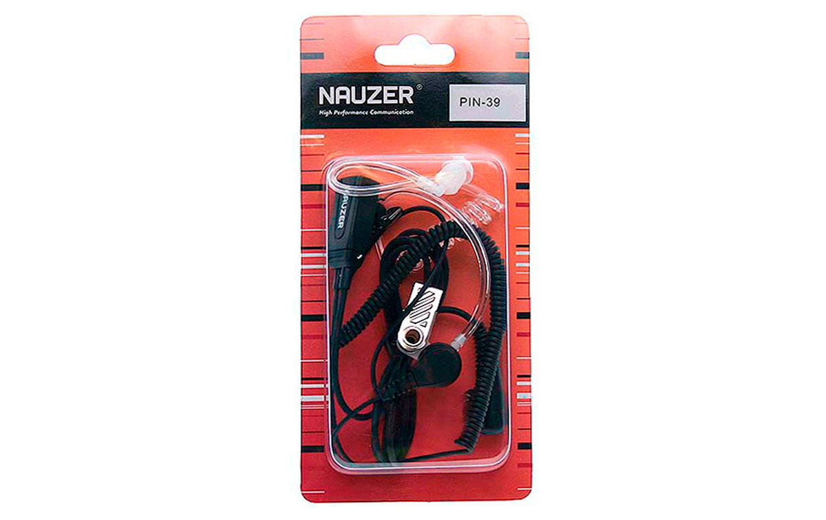 Micro-Nauze PIN39SP2 Headset PTT Coquilles antibruit