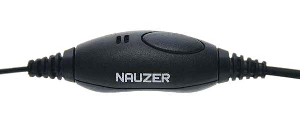 NAUZER PIN 40 M Micro Auricular tubular especial para ambientes ruidos con PTT / VOX.