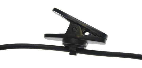 PIN Nauze M 40 tubulaires sp?aux des environnements sonores micro-casque avec PTT / VOX.