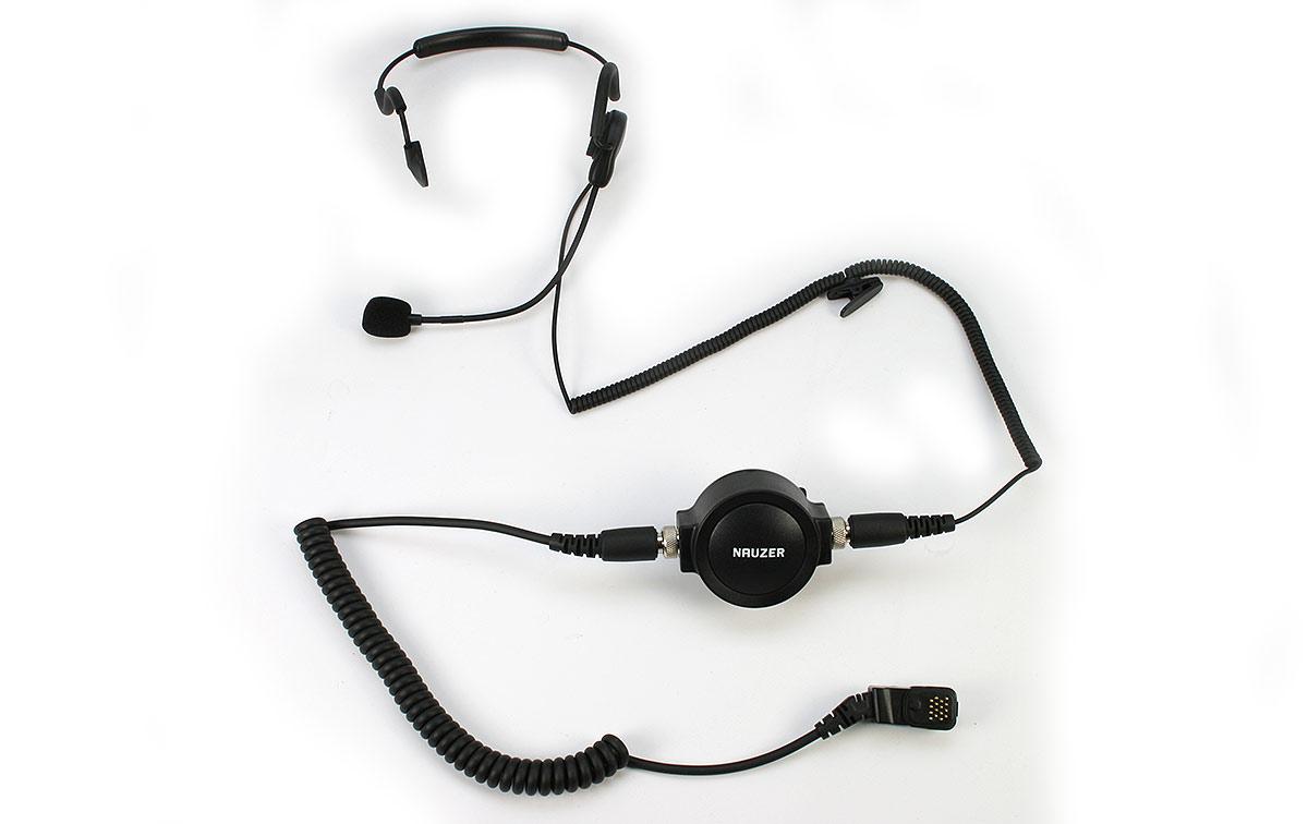 PIN59TPH700 Micro pertiga-Auricular tipo diadema nuca PTT profesional