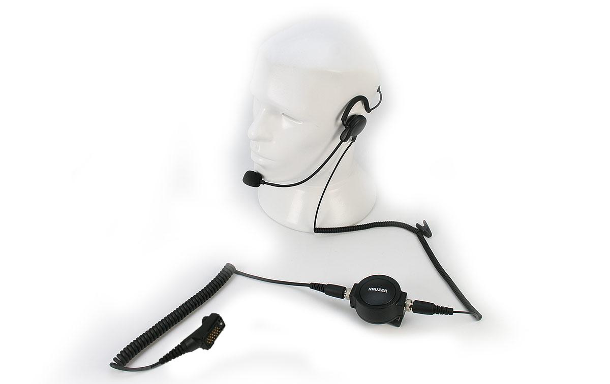 PIN59TPH900 Micro pertiga-Auricular tipo diadema nuca PTT profesional