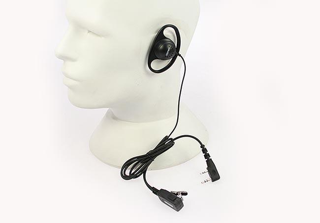 pin77k nauzer micro-auricular orejera cerrada, cable recto, kenwood, luthor, etc...