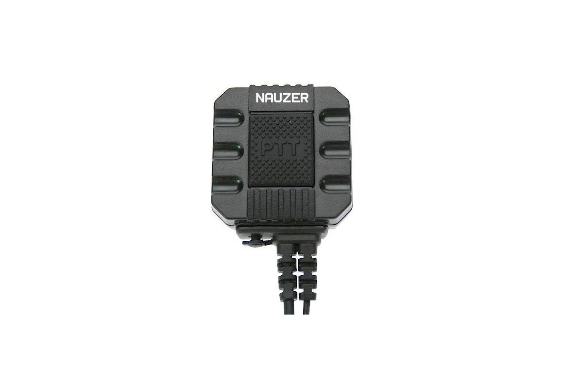 PIN-99K Micro-Auricular Nauzan Professional earmuff PTT, PTT possibilidade de 2 �
