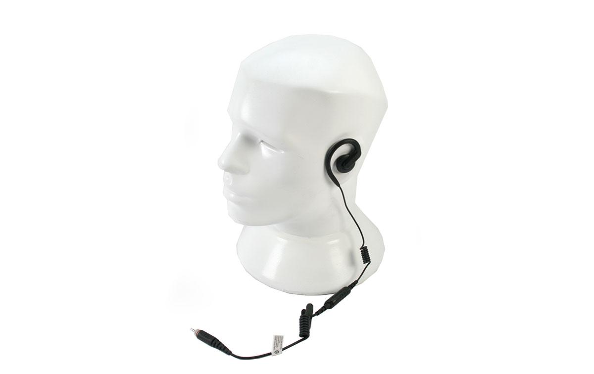 motorola pmln8125a micro-auricular pinganillo corto para clp-446e