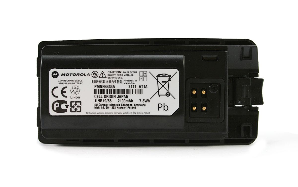 PMNN4434A Bateria original Motorola Litio capacidad 2100 mAh. voltage 7 , 4 voltios.