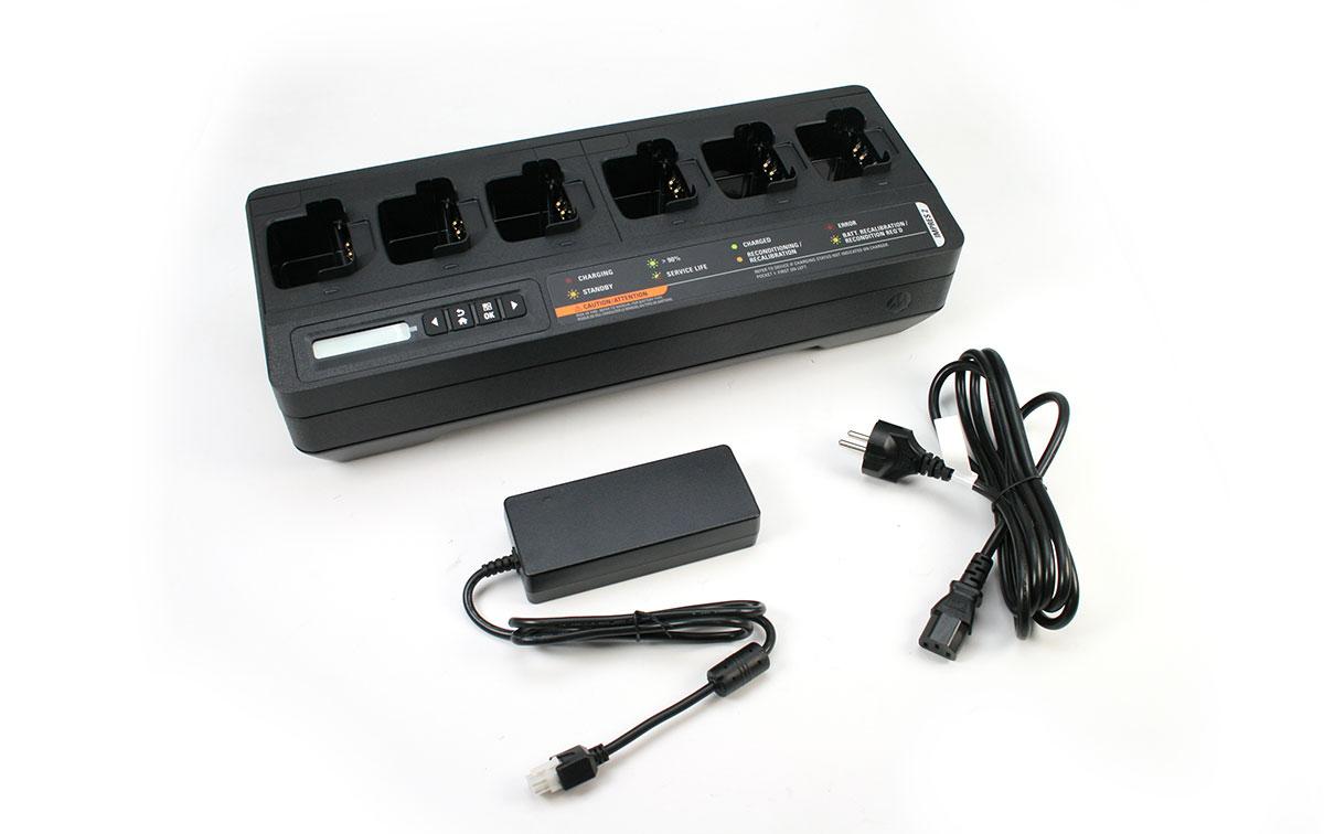 Motorola PMPN4283-A completo con el transformador 220 voltios