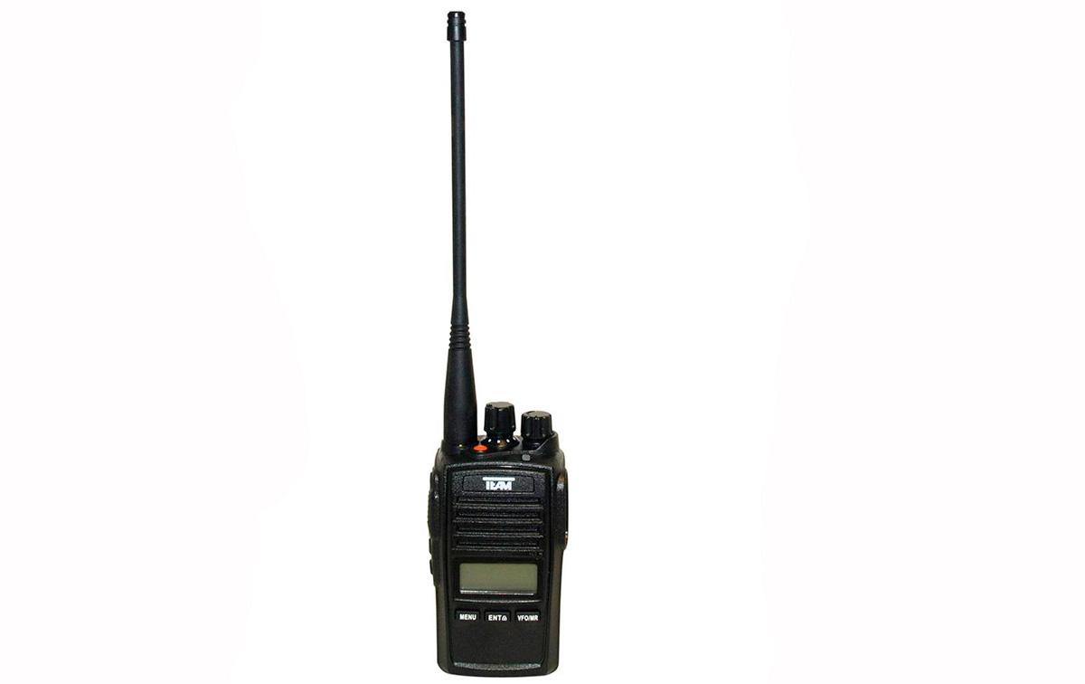 tecom pr-8090 walkie de caza uhf sin teclado ip67 con antena