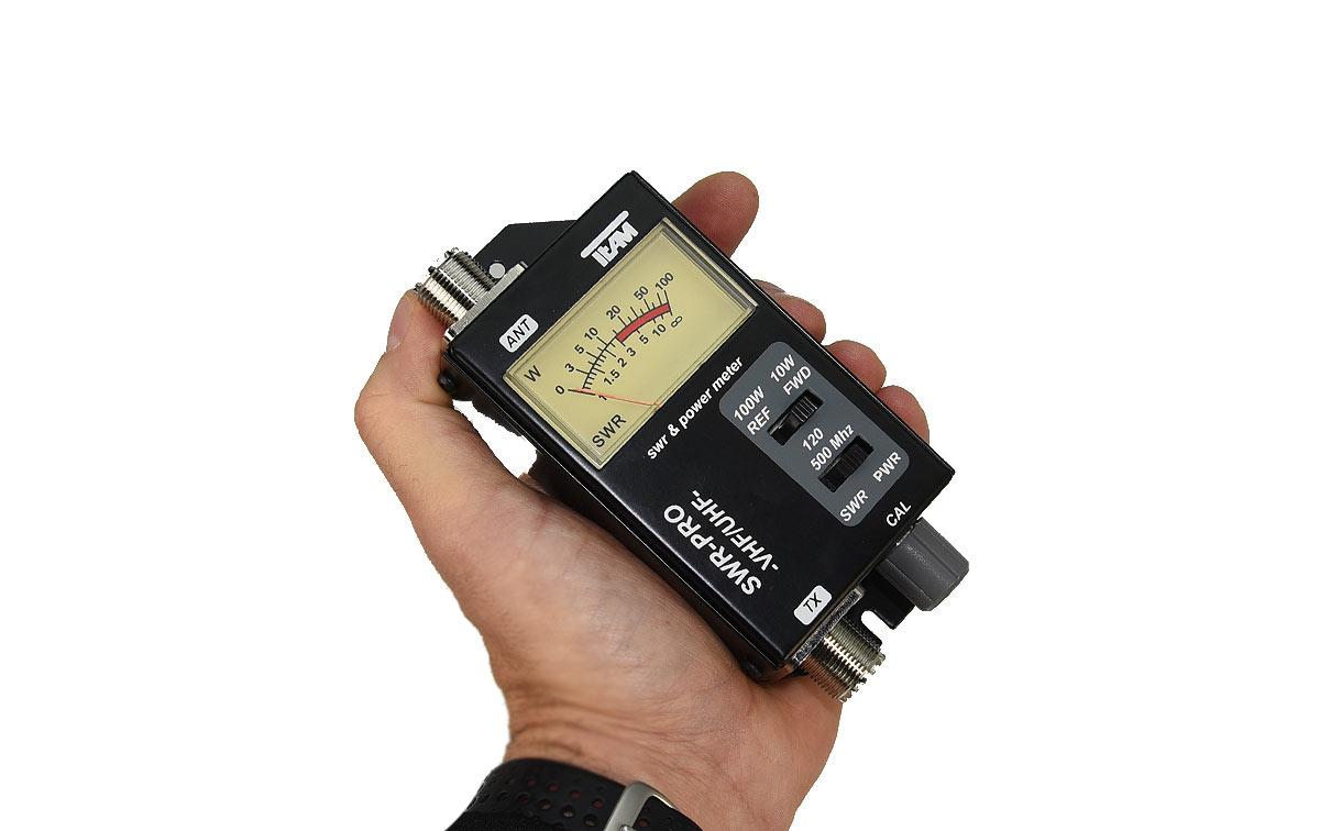 TEAM PR.2500 medidor de estacionarias 120 - 500 Mhz
