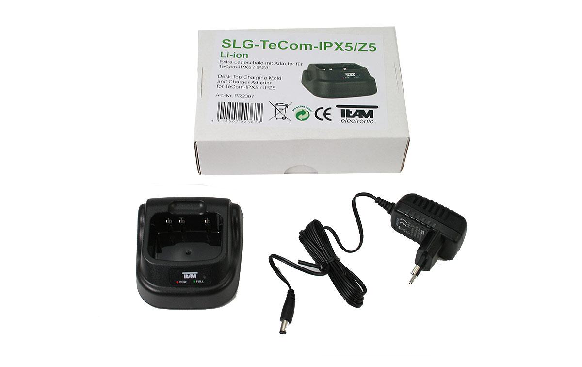 TEAM PR-2367 Cargador para walkies Tecom PR-8090, PR-8091 y PR-8094