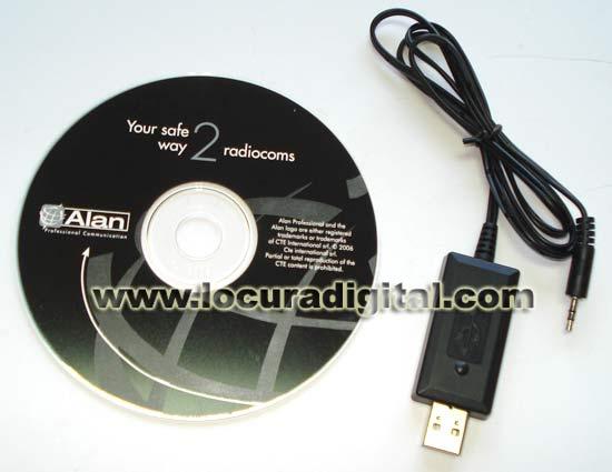 PRG-G15 Cable   Software de programación para MIDLAND G-15 Y G-18