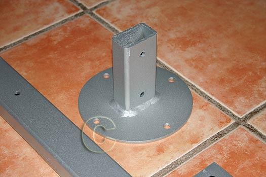 ref: PROLONGA PLUS PL . Prolongador 100 cm  para  Soporte MONO PROYECTOR. No es extensible. Peso maximo 75 Kg.