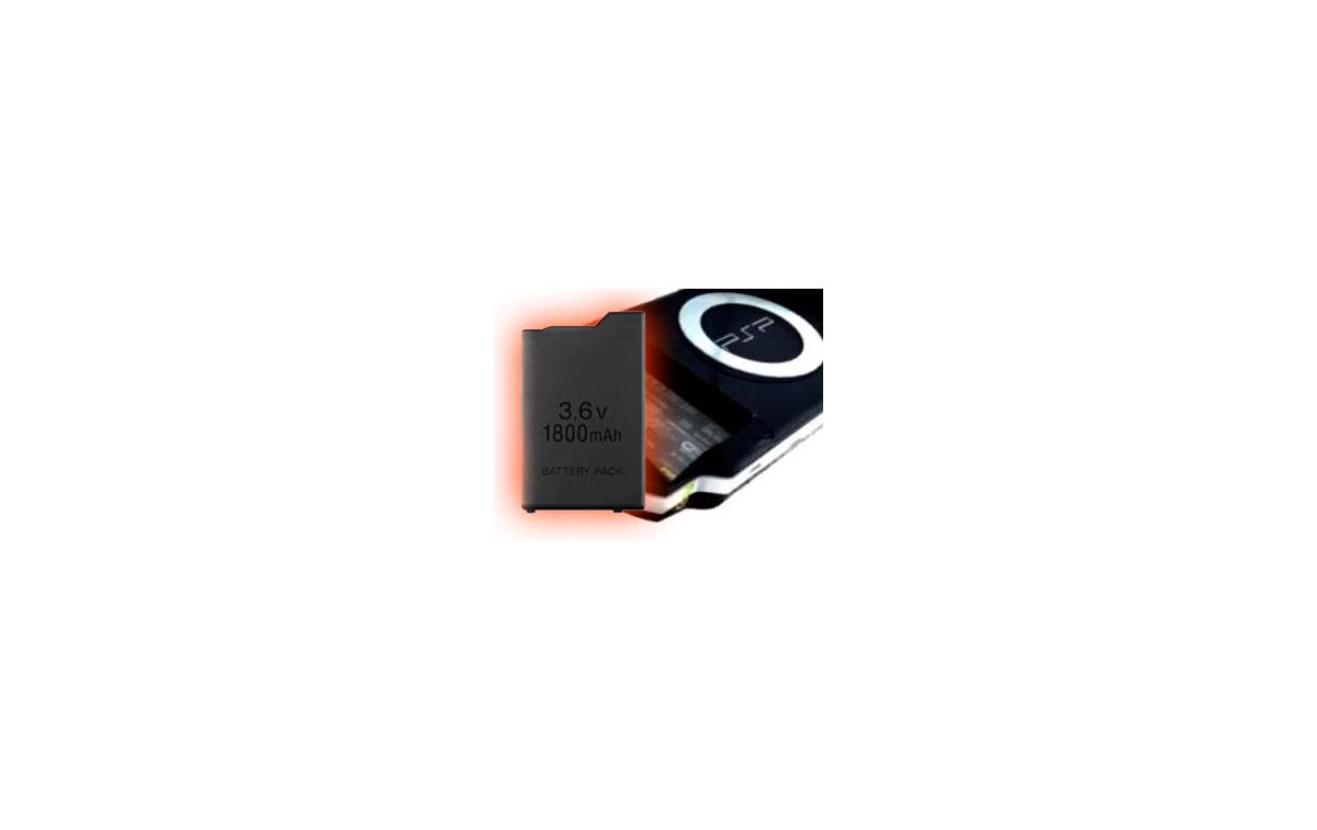 Nueva batería para la PSP de Sony