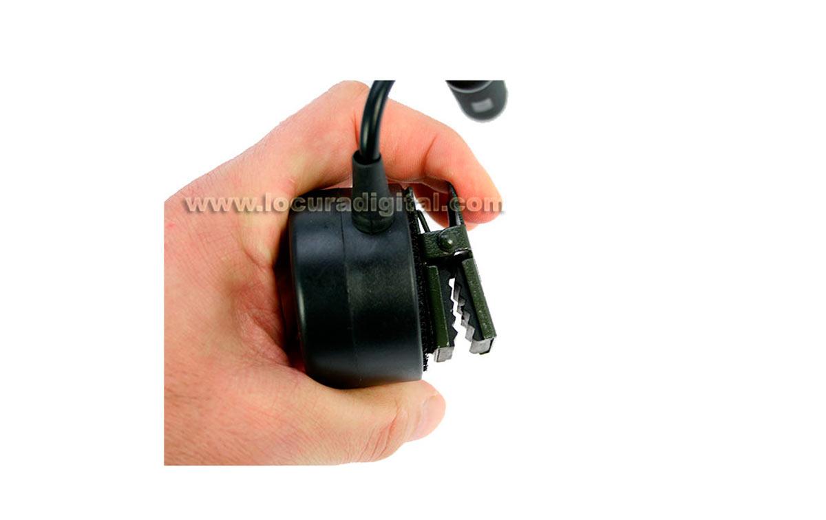 nauzer ptt25 s pulsador para walkies standard, icom, alan, midland etc....