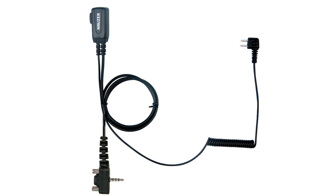 NAUZER PTT-32-Y2 YAESU Cable con micro PTT compatible casco PELTOR SPORTTAC