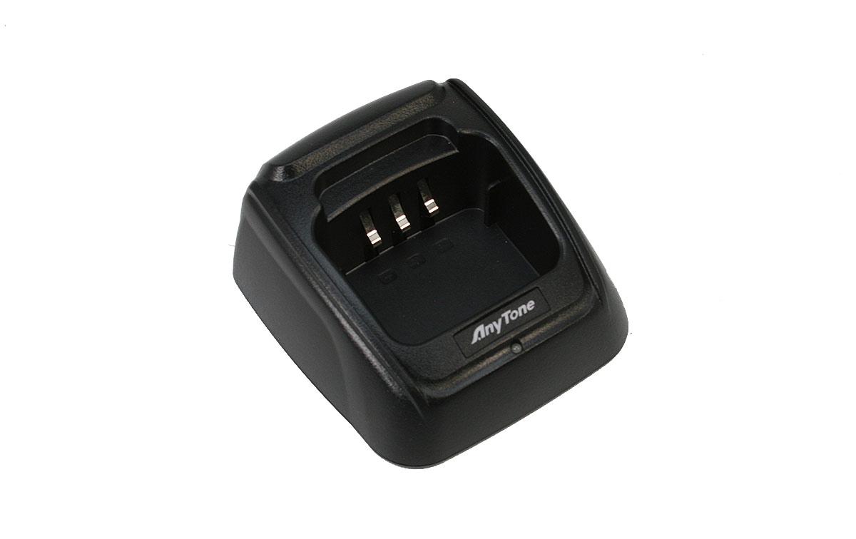 QBC45L ANYTONE Cazoleta carga batería walkie ATD-868UV y ATD-878UV