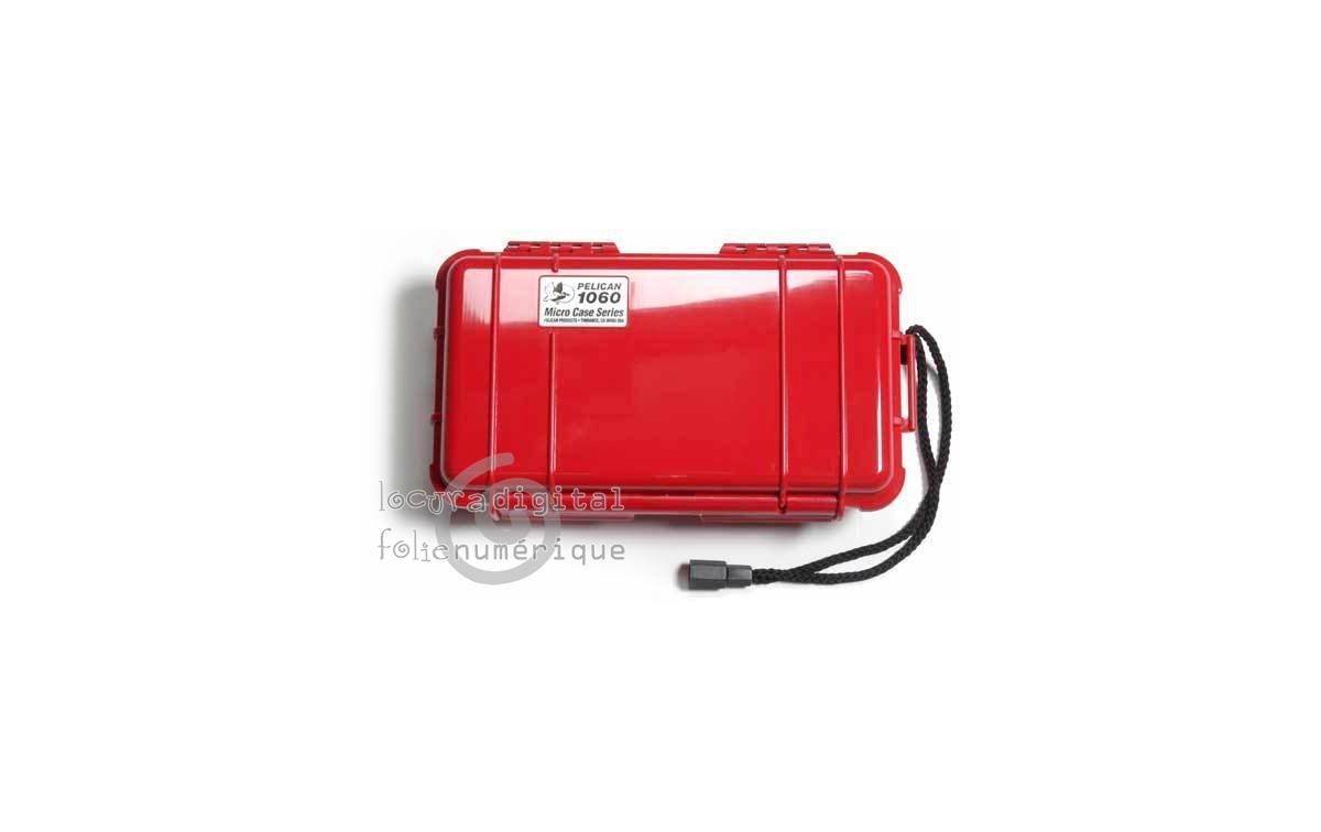 1060-025-170E Micro-Maleta de protección Roja