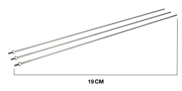 antena base bibanda diamond original japonesa x 30 .antena valida para transmitir y recibir en dos bandas vhf/uhf. dispone de tres radiales.se puede instalar en mastil diametro 30 mm a 60 mm. tipo de conexion n. longitud 1,3 m. un tramo.