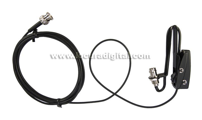 NAGOYA RB CLP Soporte para cristal para antenas de walkie con conectores BNC