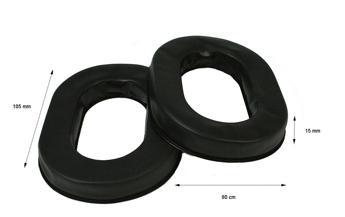 RECNA881 NAUZER Recambio pareja de orejeras para Cascos HEL880 incluye 2 unidades.