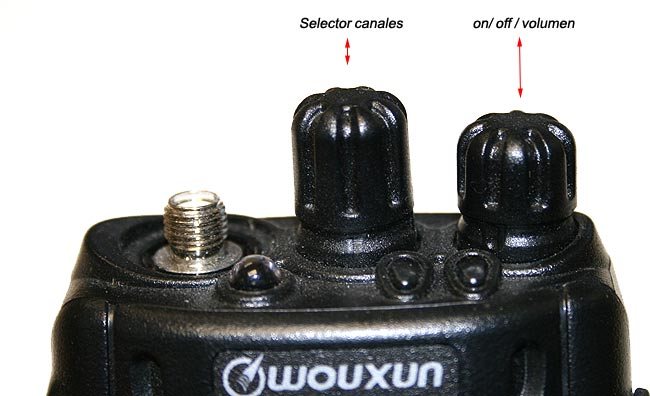 FRACUENCIAS BUTTON REPLACEMENT OR ORIGINAL CHANNELS FOR WOUXUN KGUVD