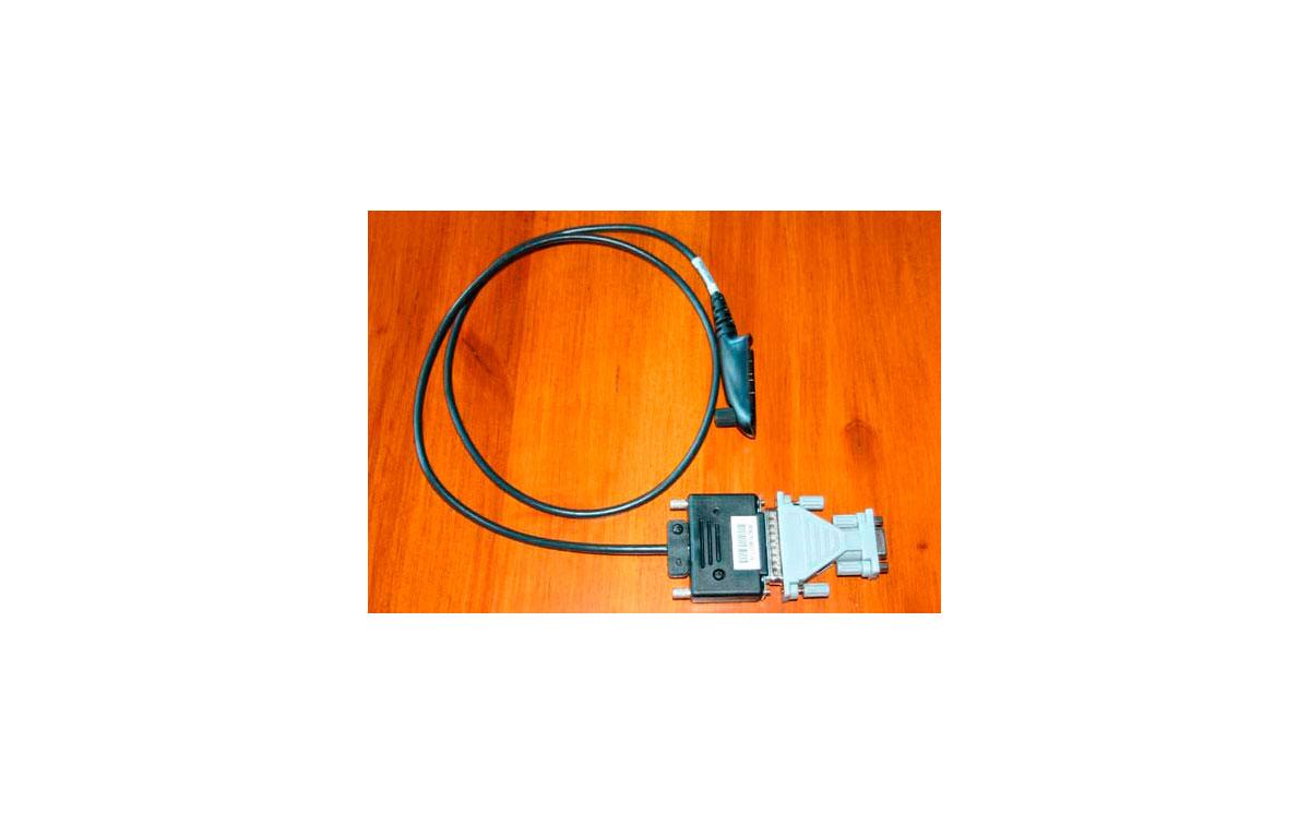 RKN 4075 Cable de programacion para walkies Motorola serie GP 320 a 380