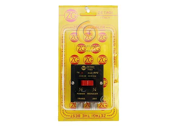 Reduzindo o poder RP2ZETAGI meia 02/01 e 04/01 0-30 Mhz. 25 W