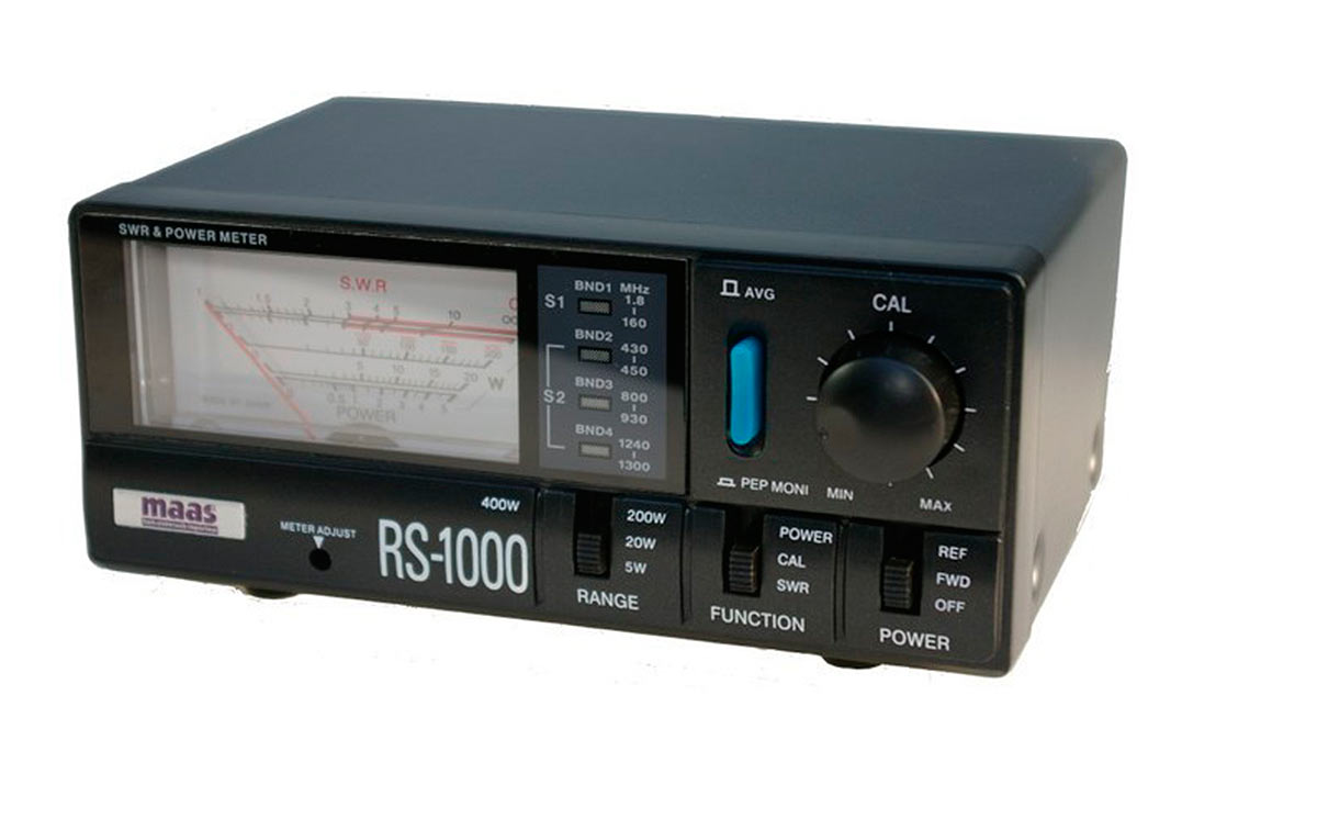 RS-1000 MAAS Medidor frecuencias 1,8 -160-430-1300 Mhz