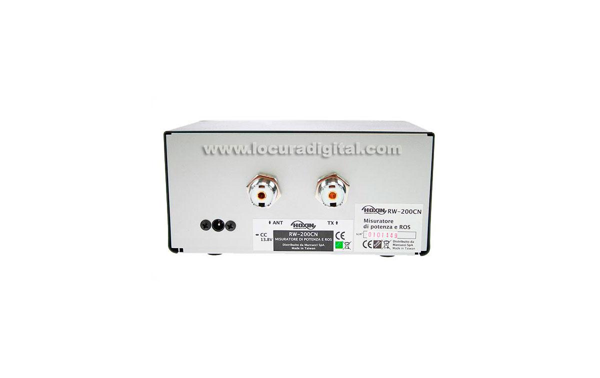 HOXIN Medidor SWR RW200CN POWER FREQUENCY / 1,8-160 mHz