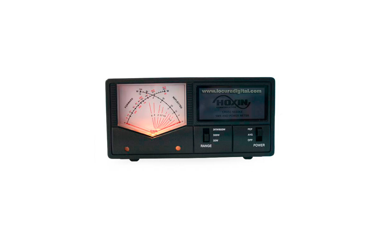 hoxin rw200cn swr meter / power frequency 1.8 to 160 mhz