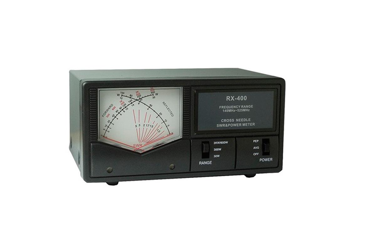 RX400 MAAS Medidor agujas cruzadas R.O.E. / Watimetro de 0,5 a 3.000 Wats. Frecuencias 140-525 Mhz