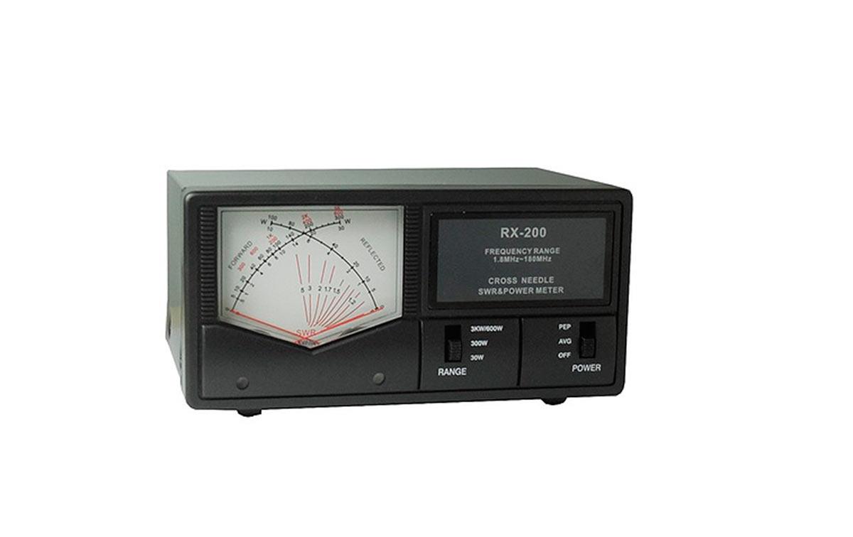 rx200 maas medidor de agujas cruzadas r.o.e. / watimetro de 0,5 a 3.000 wats. 1,8-180 mhz