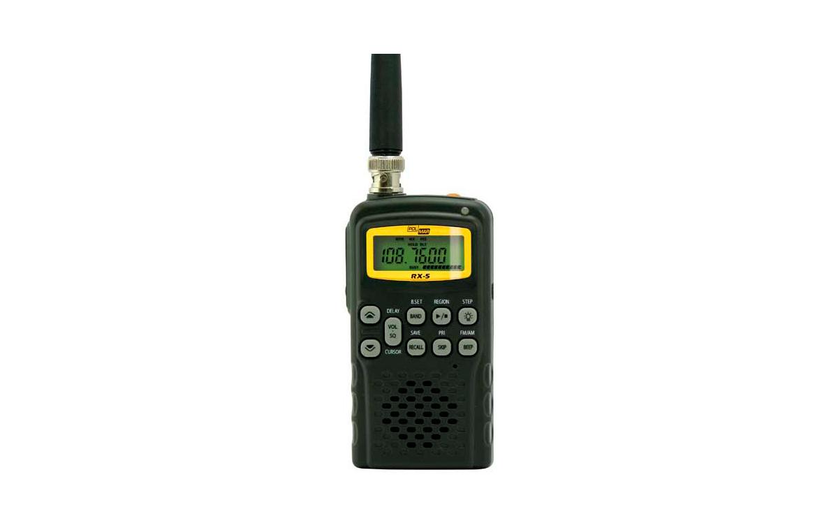 RX5POLMAR Escaner de frecuencias marca POLMAR