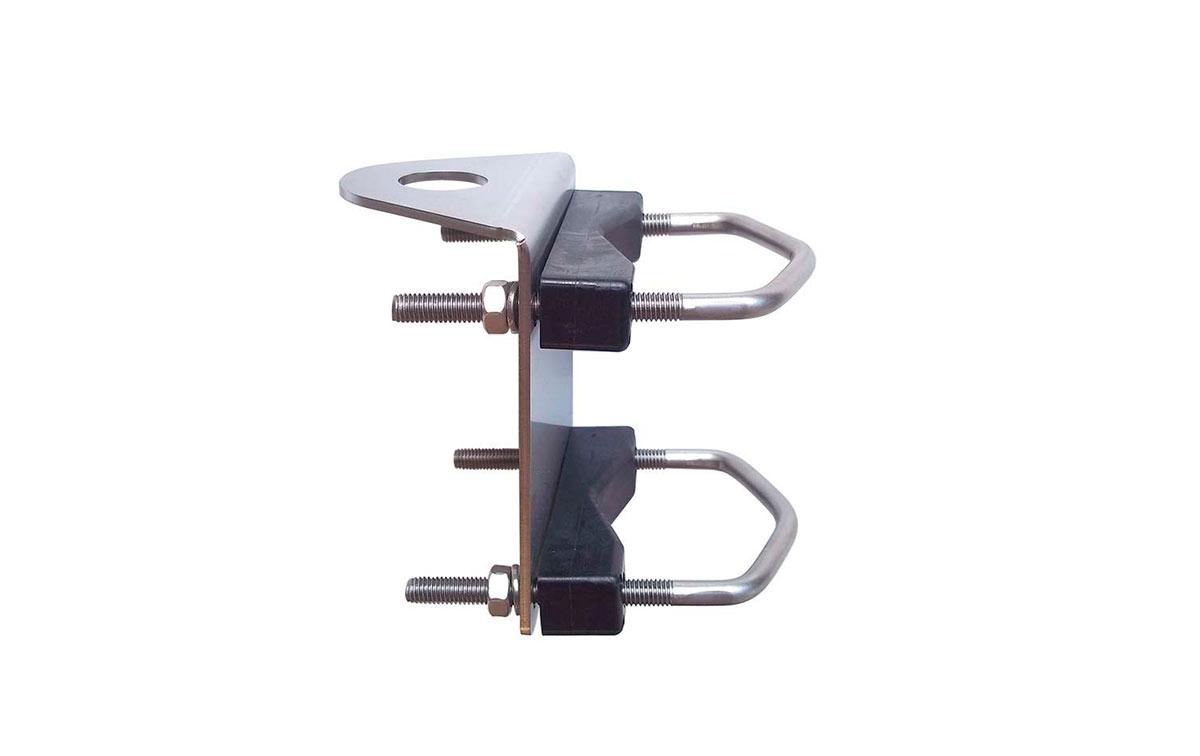 MIRMIDON SEAFIX-22 Soporte acero inoxidable + rosca1 pulgada para mastil 25 a 40 mm