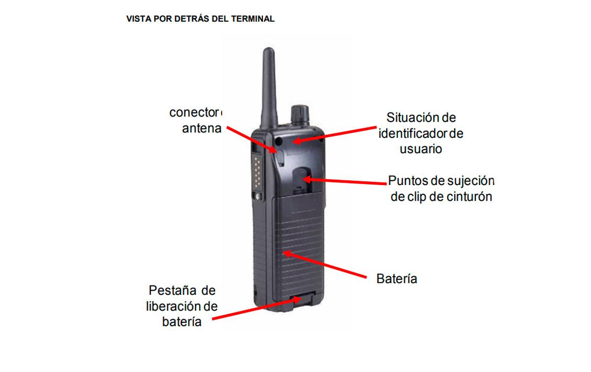 SEPURA STP8000 Walkie Sepura Tetra