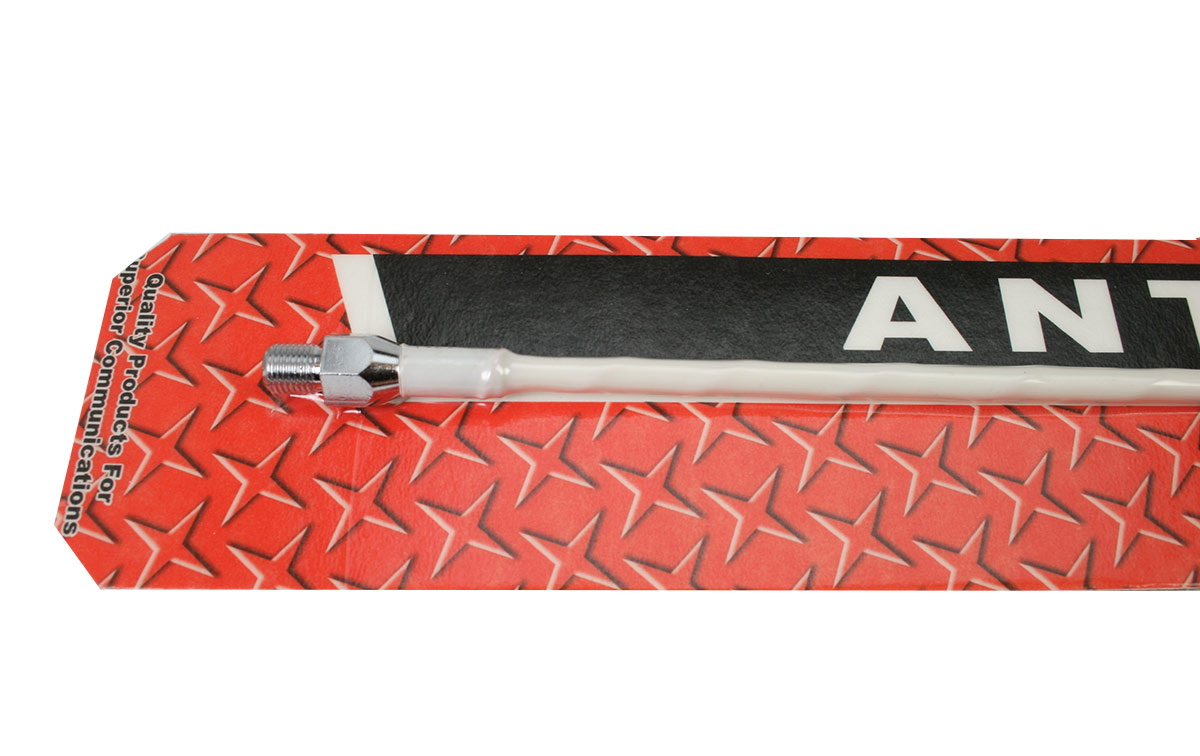 PROCOMM SF2-W Antena rosca 3/8 vehiculo radiante CB27 Longitud 65 cm