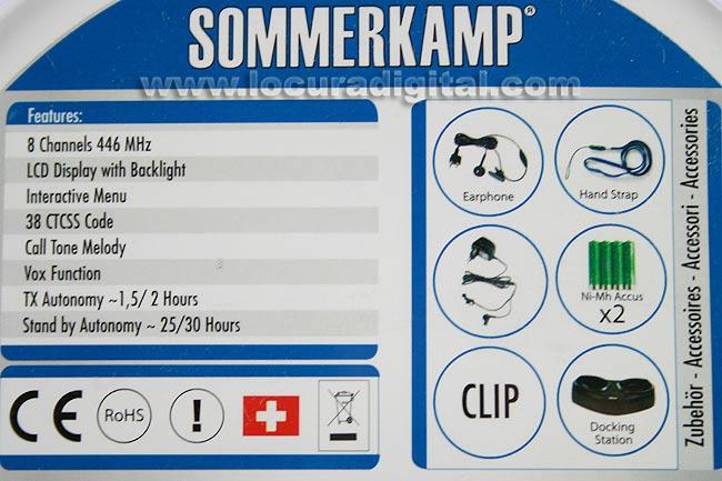 SK-552 SOMMERKAMP PMR446