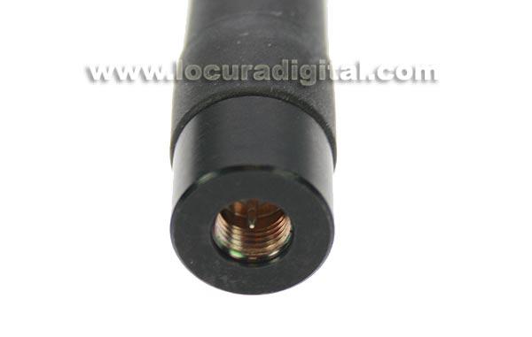 COMET port?l bibanda SMA209 super antena 144/430 MHz fex vel. 6,8 cms.